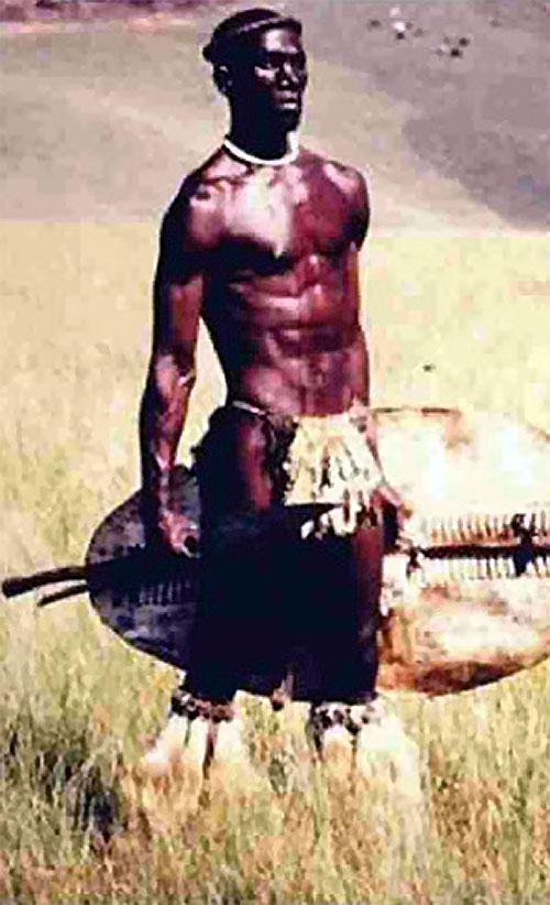 Shaka zulu photo du film emponyme acteur henry cele 2