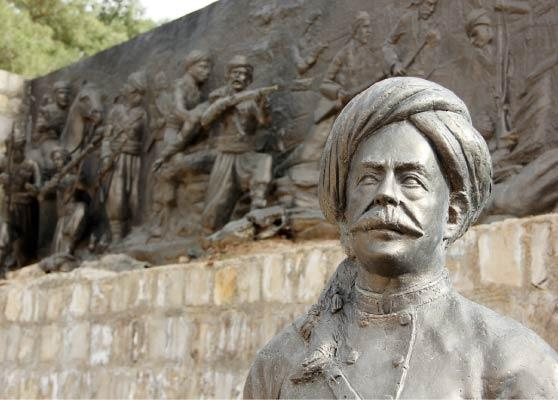 Stèle du Sheikh Mahmoud BarzanjI