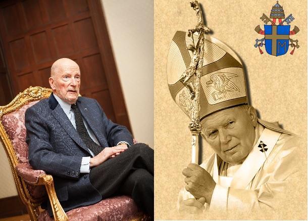 Siméon ii et Jean Paul II
