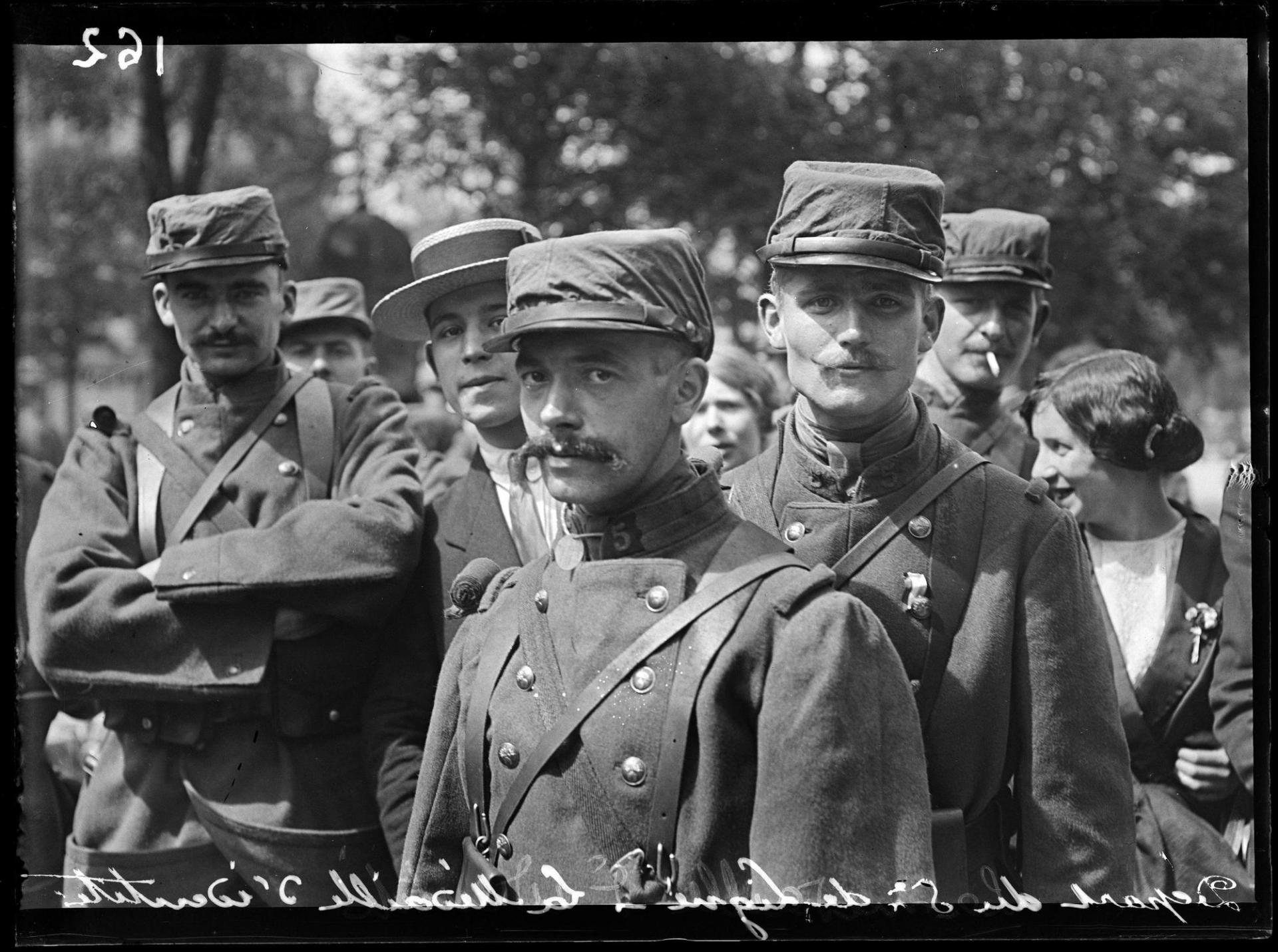 Soldats francais en 1914