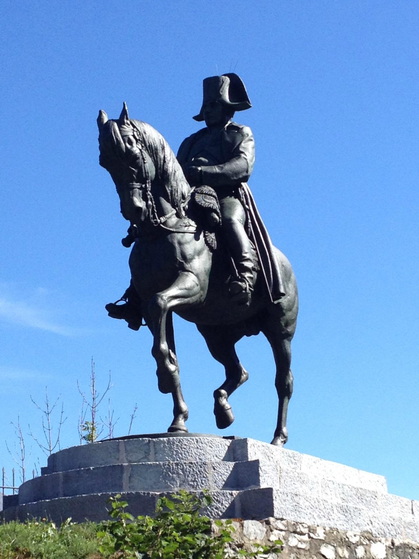 Statue napoleon ier a ajaccio