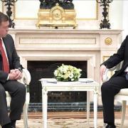 Rencontre Abdallah II et Vladimir Poutine à Moscou