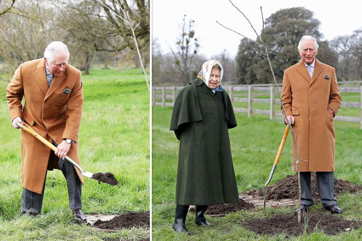 Charles de Galles et la reine Elizabeth II