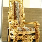 Trone africain