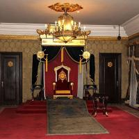 Trone au palais de changchun