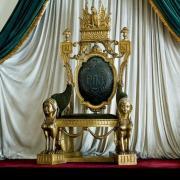 Trone bresilien