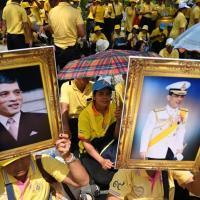 Ultra royalistes en thailande