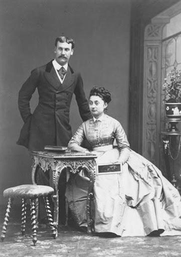 Achille et Salomé Murat