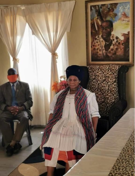 la reine mère Manyaku Thulare