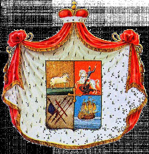 Blason des Murat de Mingrélie