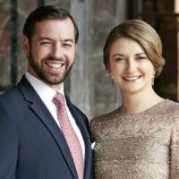Guillaume et Stéphanie de Nassau.