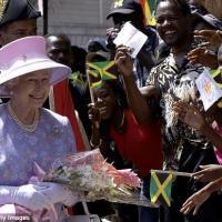 Visite de la reine elizabeth ii en jamaique
