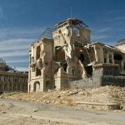 Palais royal détruit en 2001