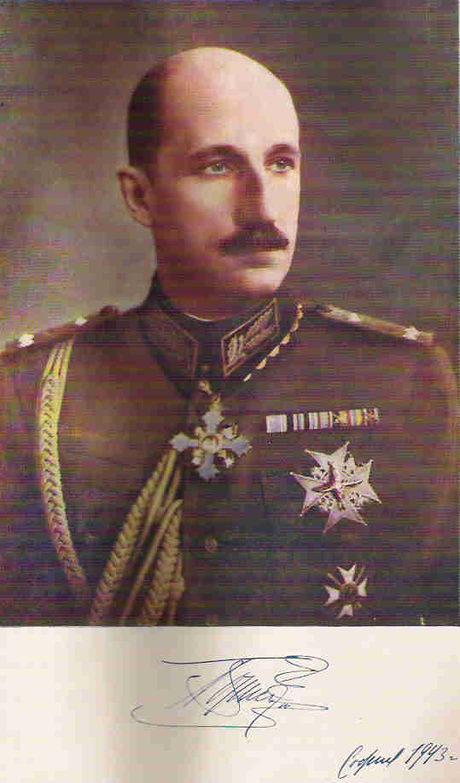 Portrait officiel du roi Boris III en 1943